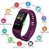 LIGE Fitness Tracker, IP67 Waterproof Activity Tracker with Pedometer Step Counter Watch and Sleep Monitor Calorie Counter Watch, Slim Smart Bracelet for Kids Women Men