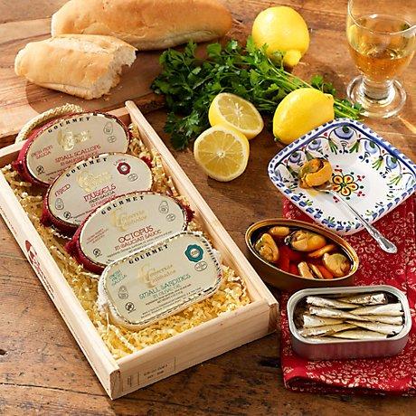Conservas de Cambados Galician Seafood Gift Box by La Tienda