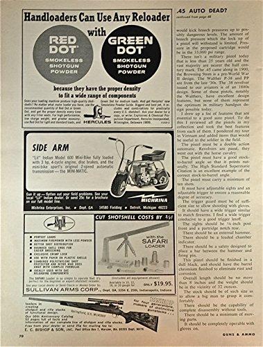 1968 Vintage Magazine Advertisement E. C. Bishop & Son, Inc. , Bishop For Four Generations, Makers Of Distinctive Gunstocks . . . - Collection Gunstock