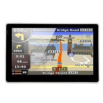 5 pulgadas GPS Auto tarjetas GRADUIT a vida} Noza Tec Auto ...