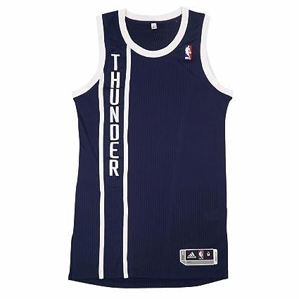 huge selection of 376c2 aa38f Amazon.com : adidas Oklahoma City Thunder NBA Navy Blue ...