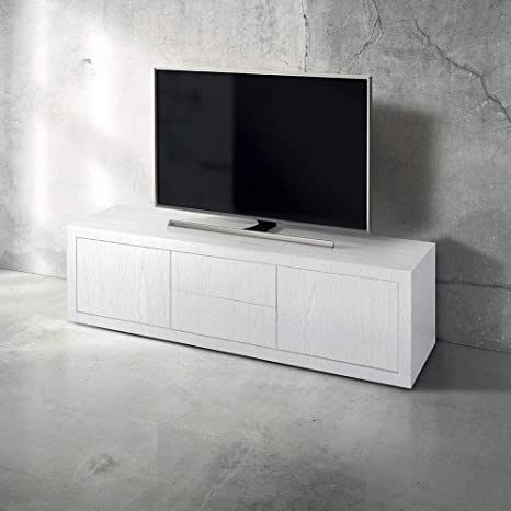 Mobile Tv Porta Tv Cm 170 X 45 X 50 H Bianco Per Interno Casa ...