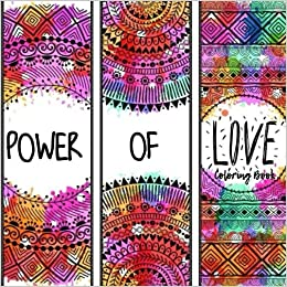 Power Of Love Coloring Book Happies 9781976560811 Amazon Books