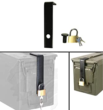 Mil-Spec equipamiento moderno para brazos geocaching caja fuerte cerradura encaja 60 mm, 40