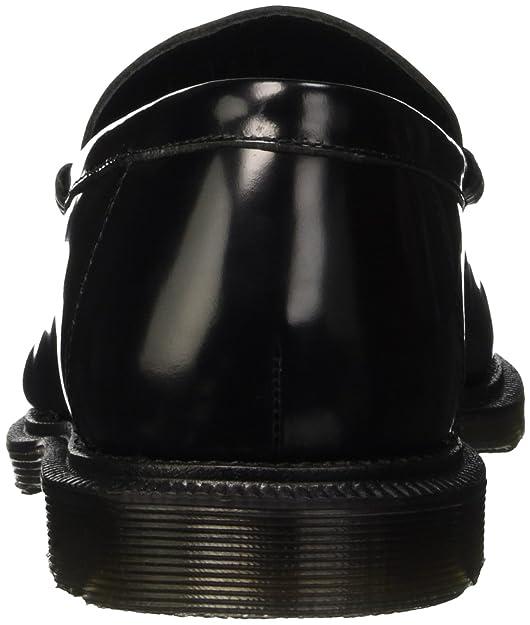 Dr. Martens Penton Black Polished Smooth, Mocasines para Hombre: Amazon.es: Zapatos y complementos