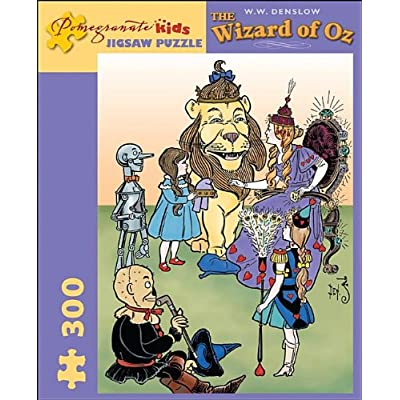 The Wizard of Oz: 300 Piece Puzzle (Pomegranate Artpiece Puzzle): Pomegranate Kids: Toys & Games