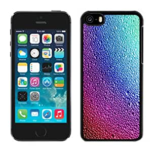Fashionable Custom Designed Cover Case For iPhone 5C With Colorful Raindrops On Glass Phone Case Cover