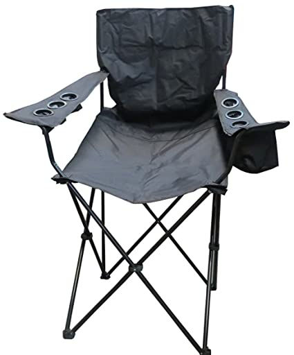amazon com vm international m 03611 giant folding chair black rh amazon com Fold Out Chair Beds Outside Fold Out Chair