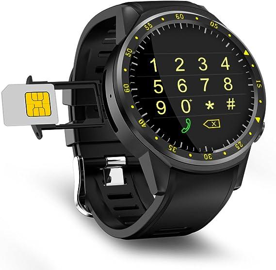Amazon.com: beseneur F1 deporte reloj inteligente con cámara ...