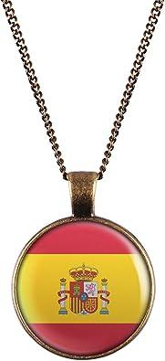 WeAreAwesome España Bandera Collar - España Collares de ...