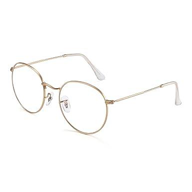 en venta a2e0f 1ad18 JIM HALO Vintage Redondas Gafas de Sol Para Hombre Mujer ...
