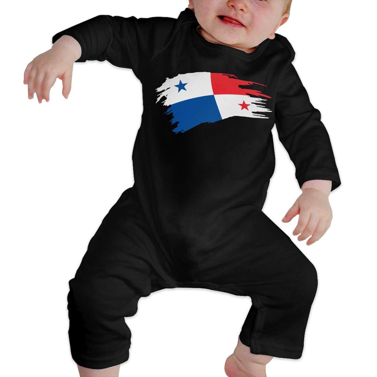UGFGF-S3 Palestine Flag Newborn Kids Long Sleeve Romper Jumpsuit Coverall