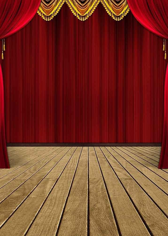 GladsBuy Wood Floor 5 x 7 Digital Printed Photography Backdrop Stage Carpet Theme Background YHA-486