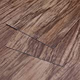 MAYKKE Heirloom Pine 47 Sq Ft Vinyl Plank Flooring 48x6 inch | Resembles Hardwood, Or Use for Wood Accent Wall | Pack of 24, Easy Install JHA1000102