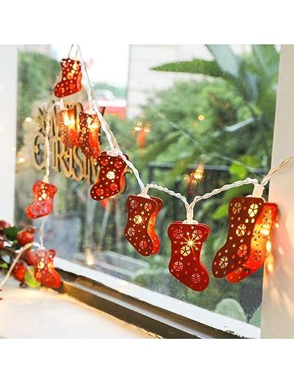 Amazon.com: ROLLBERTO Guirnalda de luces LED de Navidad ...