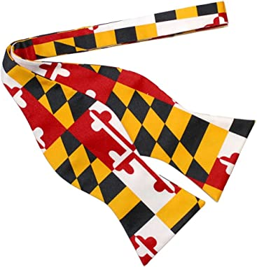 bf77a2107 Route One Apparel | Maryland Flag Self-Tie Bowtie