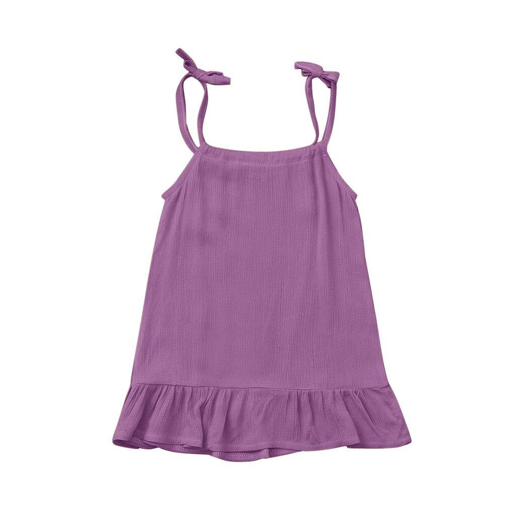 Amazon.com: Iuhan Verano Bebés Romper Vestido Playwear para ...