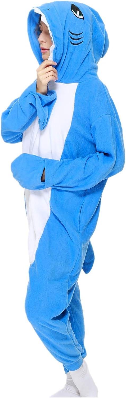 Adult Animal Onesie Pajamas One-Piece Plush Animal Cosplay Costume
