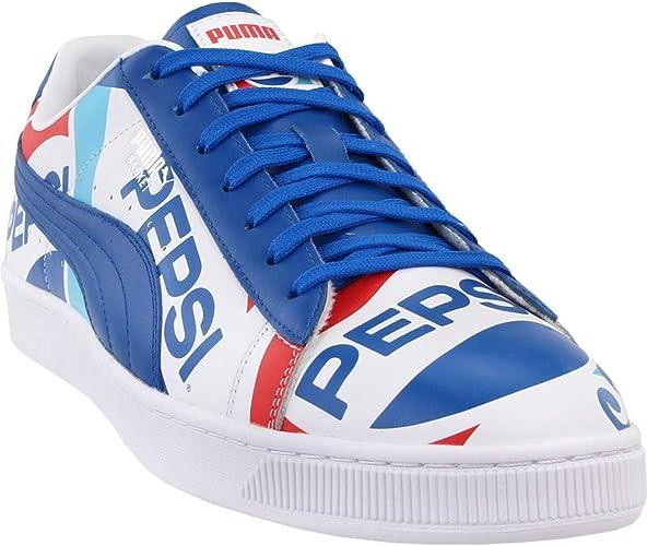 PUMA Basket X Pepsi Baskets Basses pour Homme: