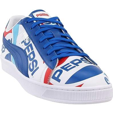 PUMA Mens Basket X Pepsi Casual Shoes,