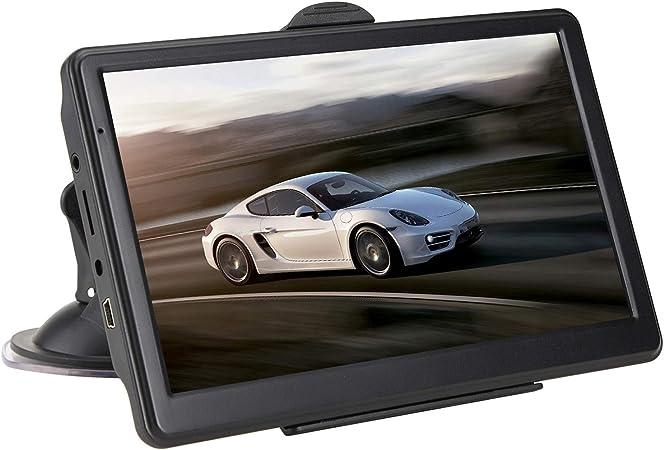 Gps Navigation Für Pkw 7 Zoll Touchscreen Sprachnavigationsfahrzeug Gps Geschwindigkeitsüberwachung Warnung Routenplanung Sport Freizeit