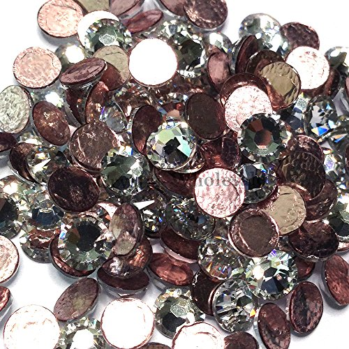 CRYSTAL (001) clear Swarovski 2038 XILION / NEW 2078 XIRIUS 40ss 8.5mm flatback HOTFIX IRON ON rhinestones ss40 36 pcs (1/4 gross) fm Mychobos (Crystal-Wholesale)