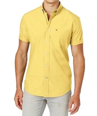 449a7971557 Tommy Hilfiger Mens Maxwell Buttondown Shirt (XS