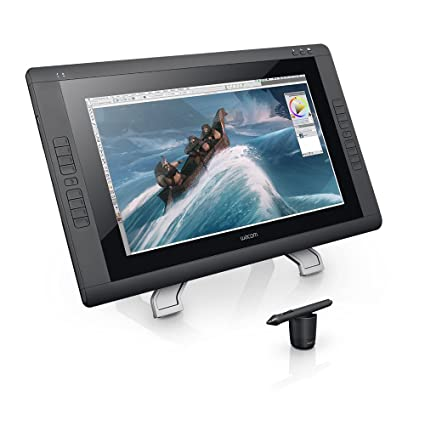 amazon com wacom cintiq 22hd 21 inch pen display tablet black