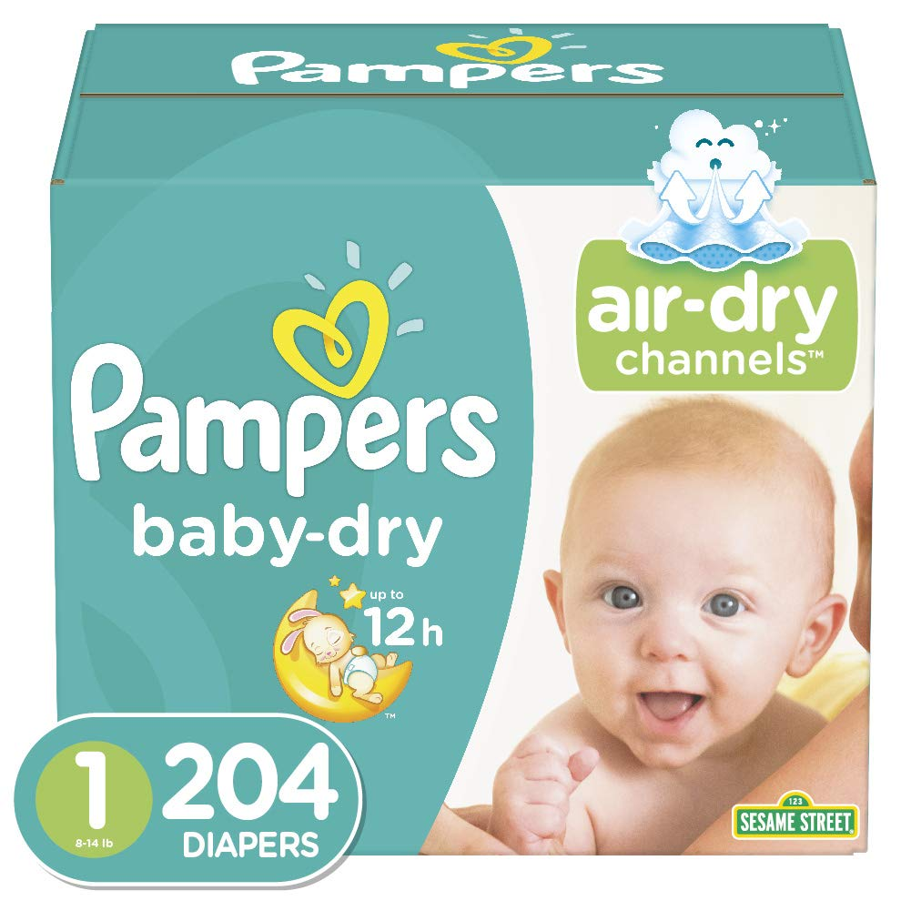 Diapers – Pampers Baby Dry Disposable Baby Diapers, Enormous Pack