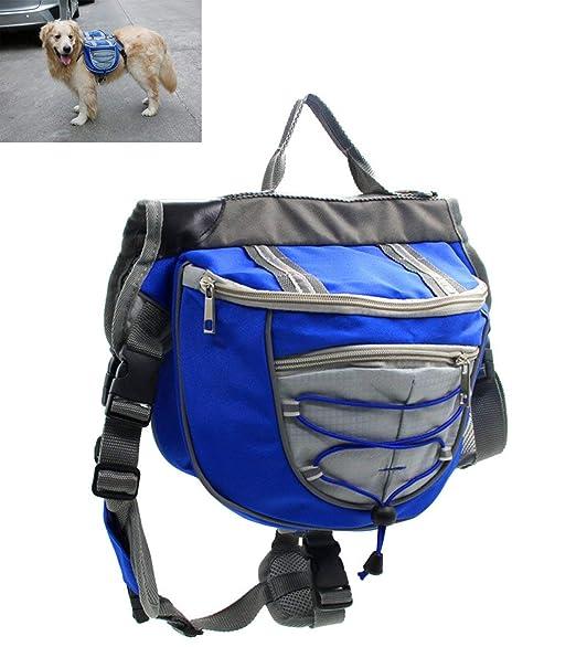 W-PET Mochila para Perros, Ajustable 2 En 1 para Mascotas Al Aire ...