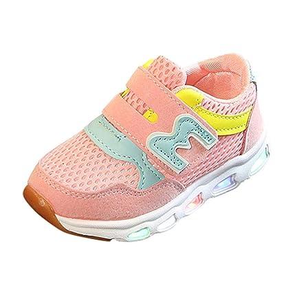 Scarpe Bambino Con Luci Led Scarpe Autunno Bambino Sneakers Sportive Bambino  Scarpe Bambini Ragazzi Ragazze Maglia 96ac8823e24