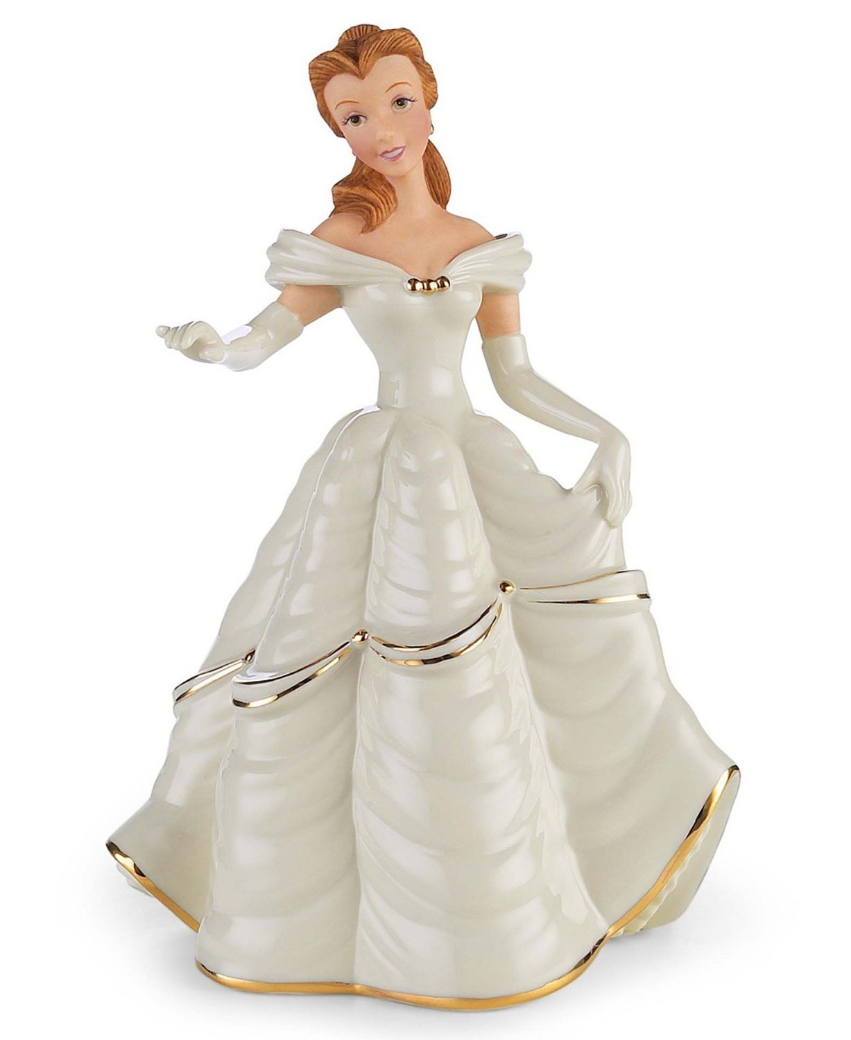 Amazon Lenox Disney Beauty And The Beast My Hand Heart Is Yours Belle Figurines Home Kitchen