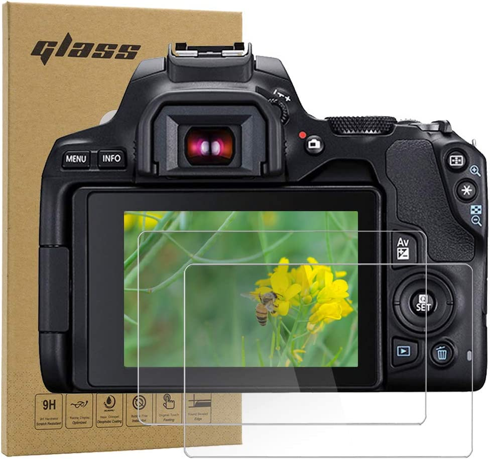 Tempered Optical Glass Film for Canon m50 m100 200d sl2 Camera Fire Rock M100 3 Pack 200D Camera Screen Protector for Canon EOS M50 M100 200D// Rebel SL2 200DⅡ 200d2