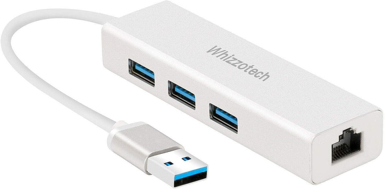 Ugreen 3 Ports USB 3.0 Gigabit Ethernet Lan RJ45 Network Adapter Hub to 1000Mbps
