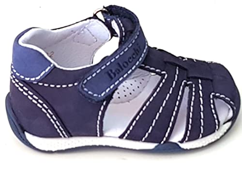 Piel Pasos Balocchi Zapatos Primeros Eu Size19 De Niño Para nXw0Ok8P