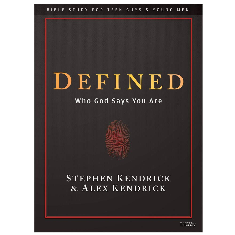 Defined - Teen Guys' Bible Study Book: Who God Says You Are by Lifeway Church Resources