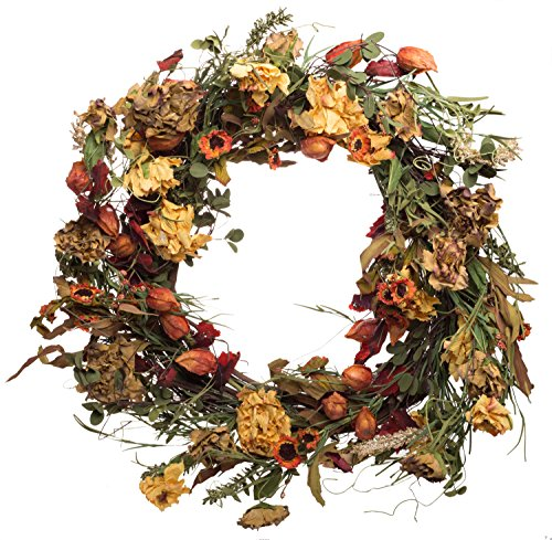 Yellow Artificial Wreath - 7