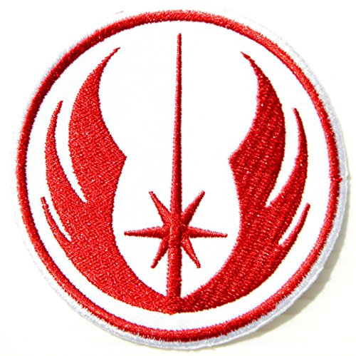Jedi Order Star Wars Cartoon Comic Logo Patch Sew Iron on Embroidered Applique Collection Costumes DIY By ()