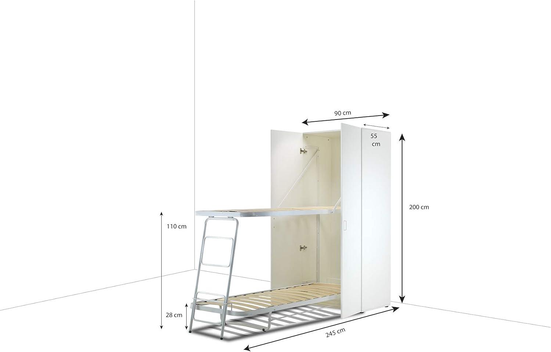Materassi.com - Litera abatible, vertical, individual: Amazon ...