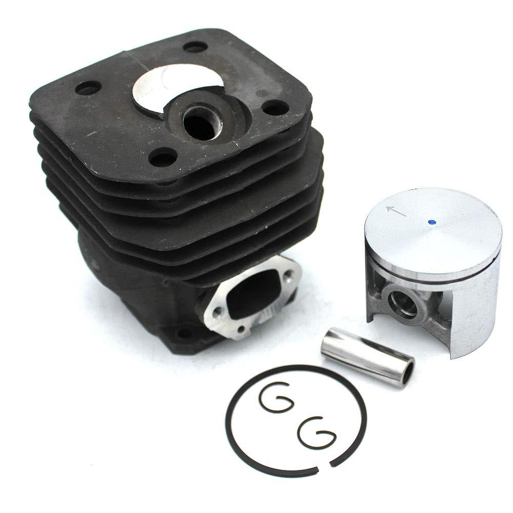 P SeekPro Cylinder Piston Kit 48mm for Husqvarna 261 261 EPA 262 262XP Chainsaw Parts#503 54 11-72 503 53 11-71