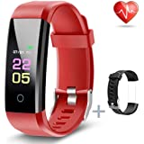 ANCwear Fitness Tracker - Activity Tracker Watch with Heart Rate Blood Pressure Monitor, Waterproof Watch with Sleep…
