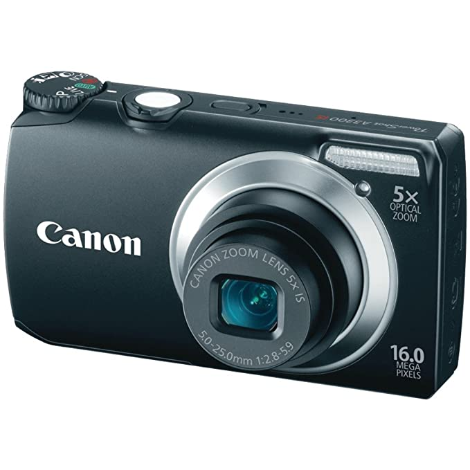 Canon A3300 IS - Cámara Digital Compacta 16 MP: Amazon.es: Electrónica