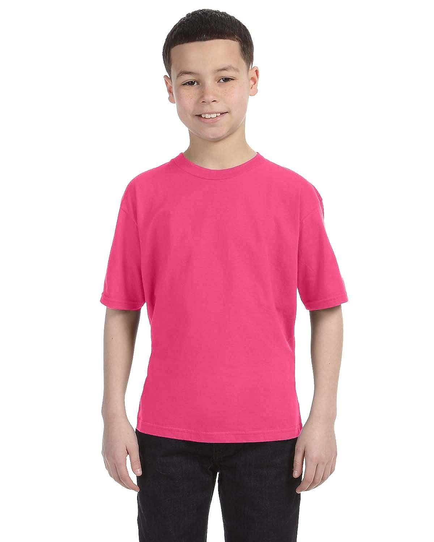 Anvil Boys Big Classic Lightweight Tearaway Label T-Shirt