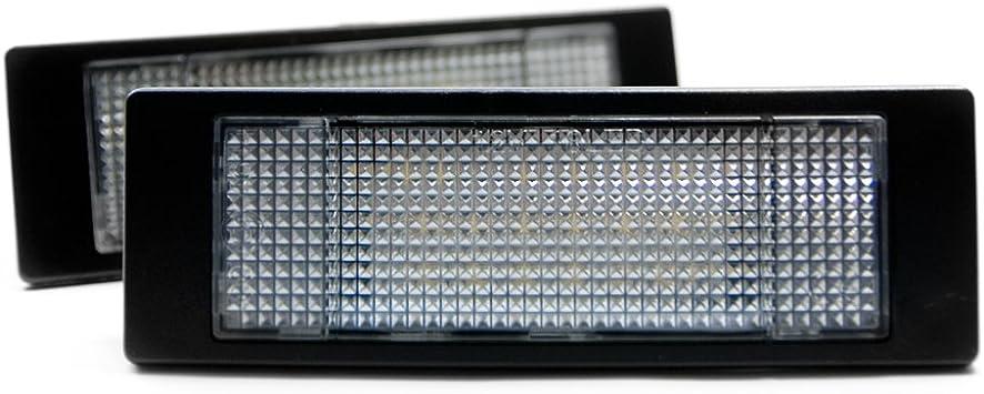 2 X Led Kennzeichenbeleuchtung Xenon Leuchte Kennzeichen Licht 6000k Auto