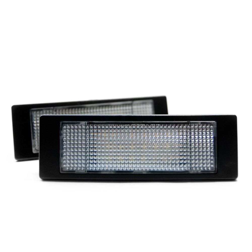 2 x LED Kennzeichenbeleuchtung Xenon Leuchte Kennzeichen Licht 6000K Vinstar