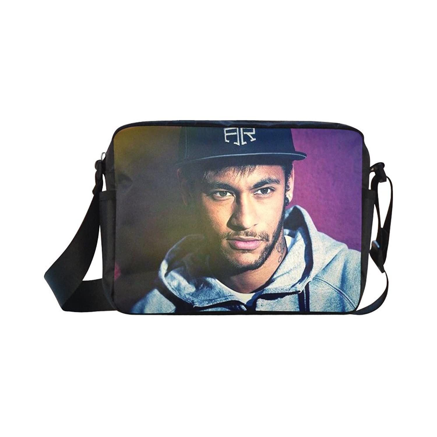 DOROT Neymar Olympics Brazil Football Team 2016 Champion Unisex Nylon Waterproof Material Black Cross-body Nylon Bags Shoulder Bag