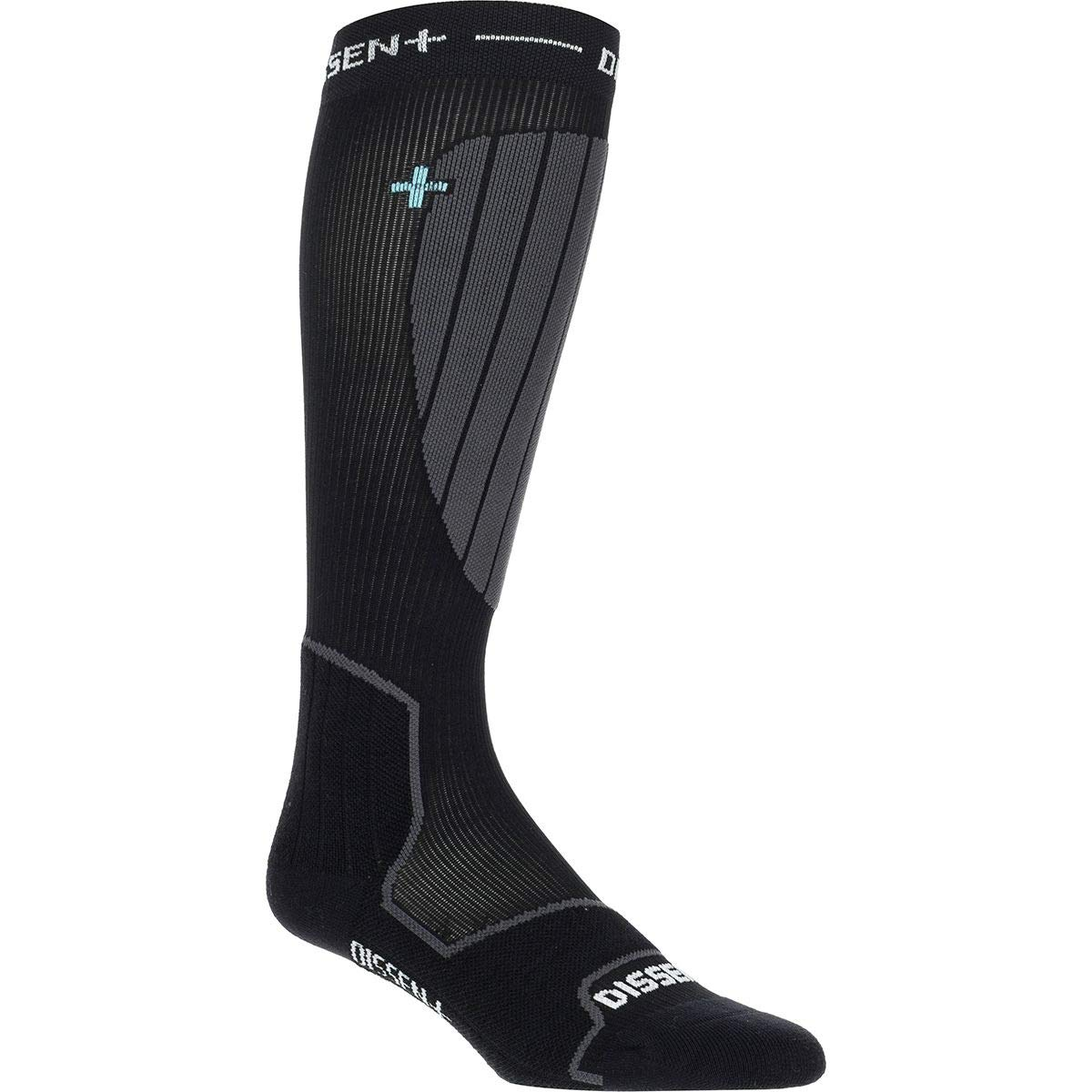 Dissent Ski GFX Compression Hybrid DLX-Wool Sock One Color, S by Dissent (Image #1)
