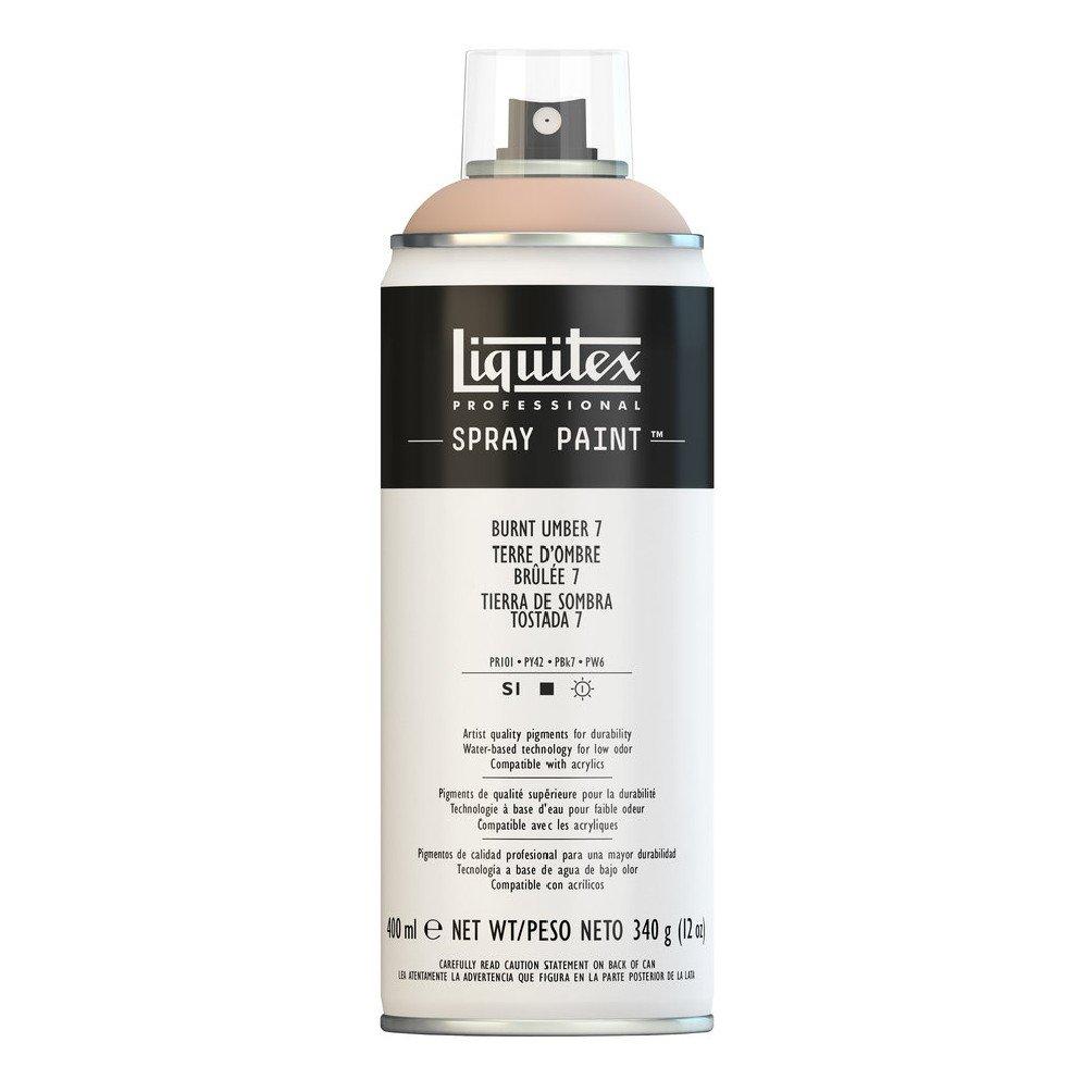 Liquitex プロフェッショナル スプレーペイント 12オンス 400ml Can ブラウン 4457128 B008N7HLRC Burnt Umber 7 Burnt Umber 7