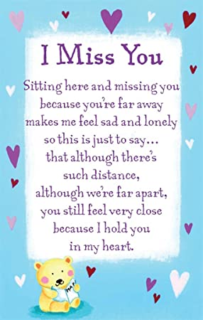 i miss you far away