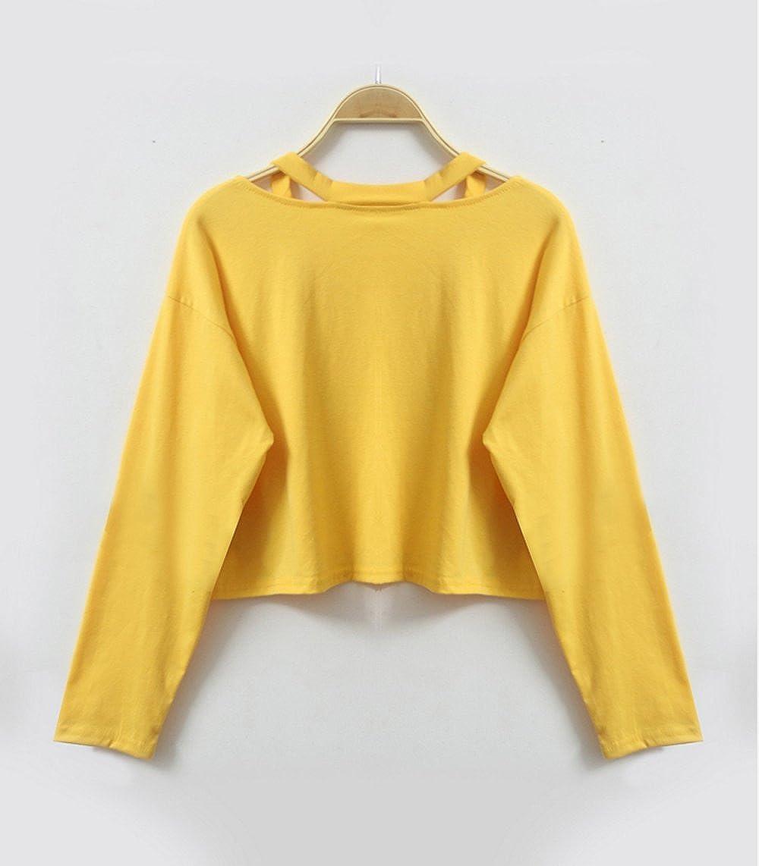 RedBrowm.Womens Long Sleeve Fashion Sweatshirt Rose Print Causal Tops Blouse
